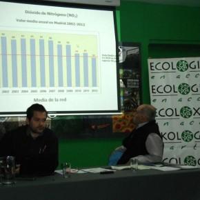 Ecologistas en Acción advierte que el aire de Madrid sigue siendo perjudicial para la salud